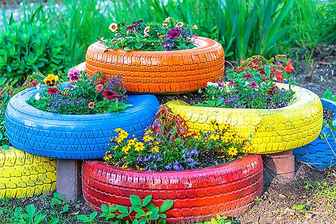 DIY Tire Recycling