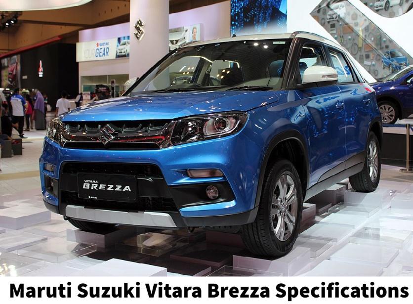 Maruti Suzuki Vitara Brezza Specifications