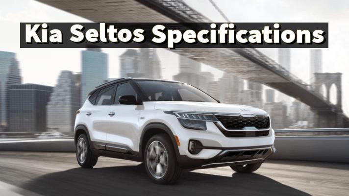 Kia Seltos Specification